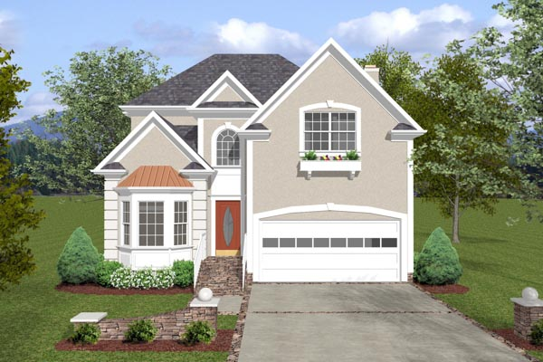 Traditional House Plan 92302 Elevation