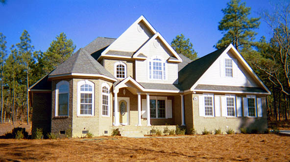 Traditional House Plan 92317 with 4 Beds, 3 Baths, 2 Car Garage Picture 1