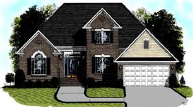 European Traditional House Plan 92319 Elevation