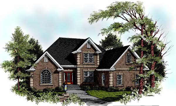 Traditional House Plan 92331 Elevation