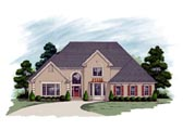Plan Number 92340 - 3482 Square Feet