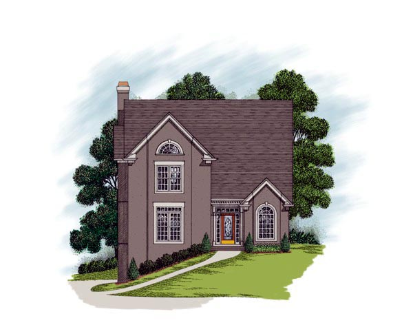 Traditional House Plan 92342 Elevation