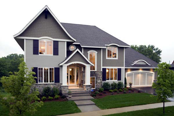 House Plan 92352 Elevation