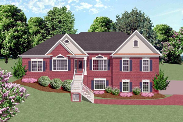 Traditional House Plan 92360 Elevation