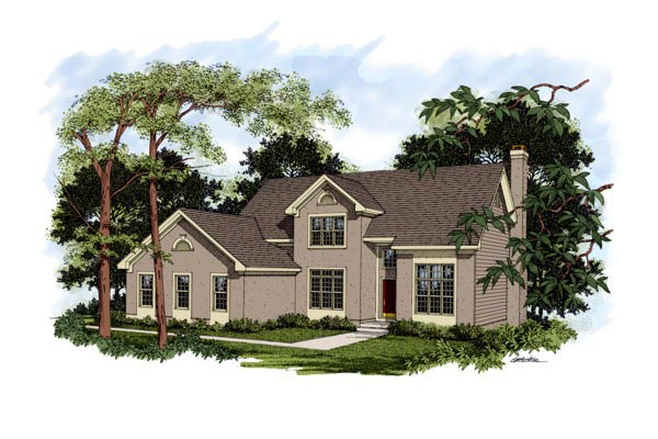 Traditional House Plan 92362 Elevation