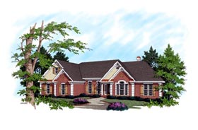 House Plan 92364 Elevation