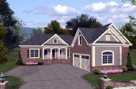 Craftsman Traditional House Plan 92381 Elevation