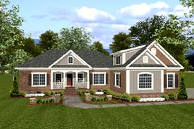 Traditional House Plan 92383 Elevation