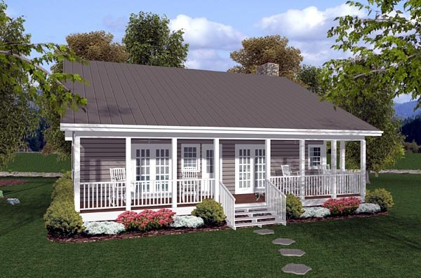 House plan 92388 at for Familyhomeplans 75137