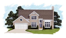 Country House Plan 92416 Elevation