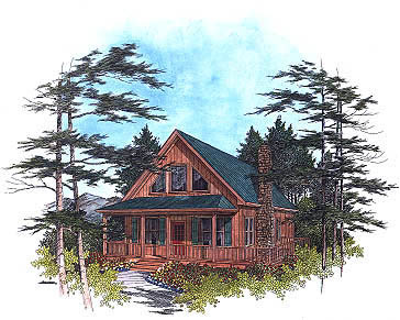 Country House Plan 92422 Elevation