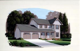 Bungalow Country House Plan 92424 Elevation