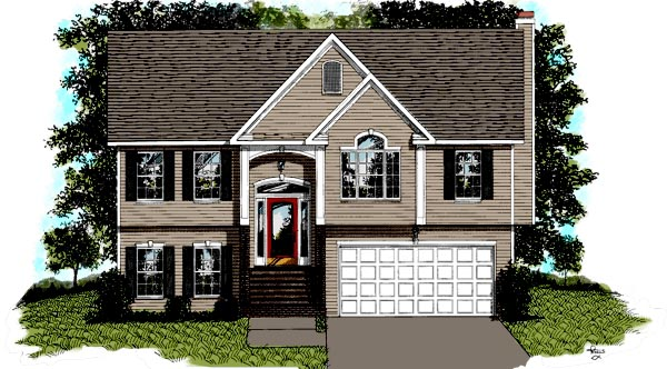 Traditional House Plan 92429 Elevation