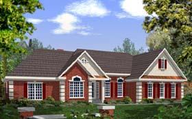 European House Plan 92436 Elevation