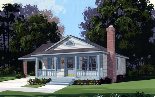 Country House Plan 92438 Elevation