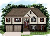 Plan Number 92441 - 1391 Square Feet