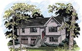 Plan Number 92442 - 1507 Square Feet
