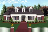 Plan Number 92446 - 1992 Square Feet