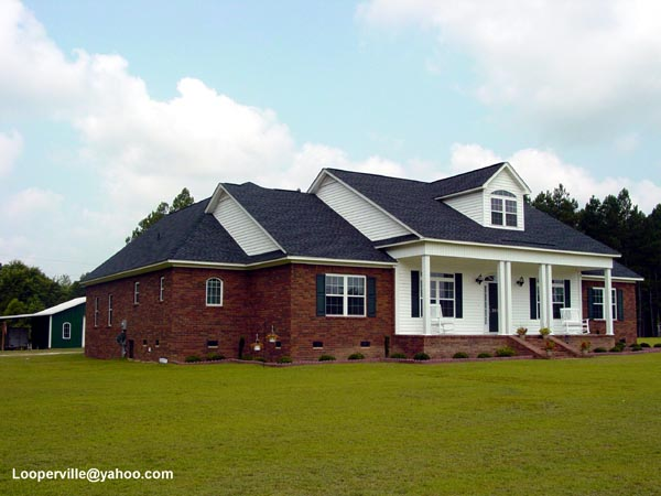 Cape cod country farmhouse ranch house plan 92446 for Country cape cod house plans