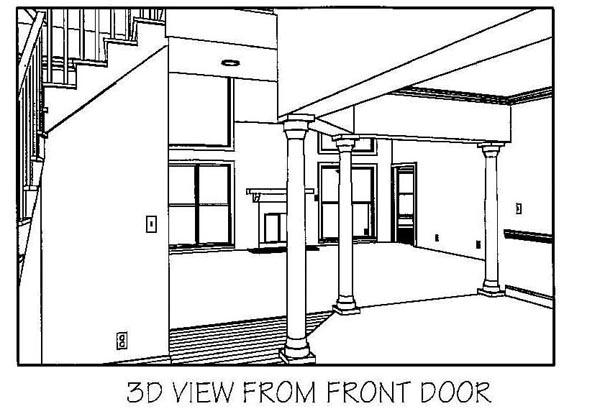 European Tudor House Plan 92452
