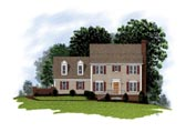 Plan Number 92488 - 1595 Square Feet