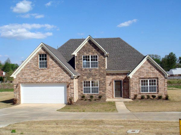 European House Plan 92497 with 4 Beds, 4 Baths, 2 Car Garage Picture 1