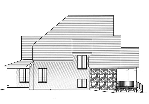 Country, Traditional House Plan 92600 with 3 Beds, 2 Baths, 3 Car Garage Picture 1
