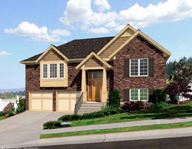 Ranch Traditional House Plan 92601 Elevation