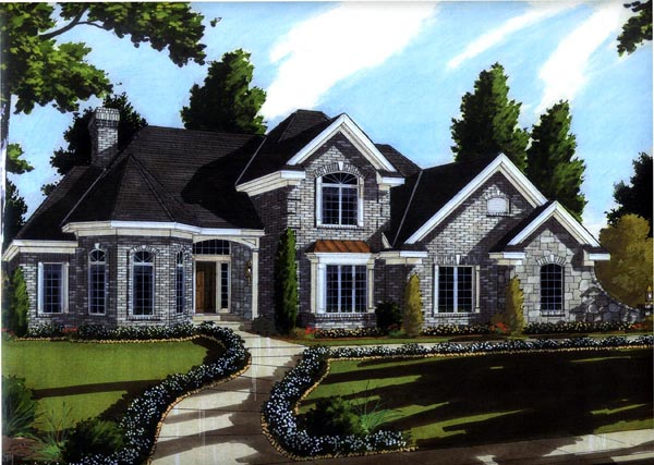 House Plan 92602 Elevation