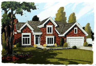 Traditional House Plan 92609 Elevation