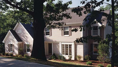 Colonial, Country House Plan 92618 with 4 Beds, 3 Baths Picture 1