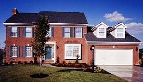 House Plan 92622 | Colonial Southern Style Plan with 2217 Sq Ft, 3 Bedrooms, 3 Bathrooms Elevation