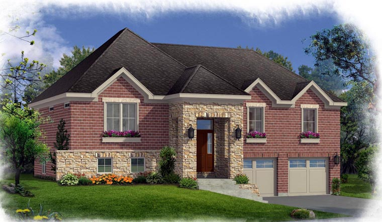 House Plan 92624 Elevation