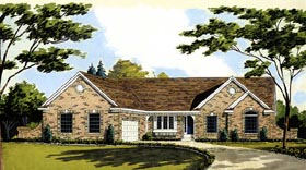 Plan Number 92625 - 1746 Square Feet