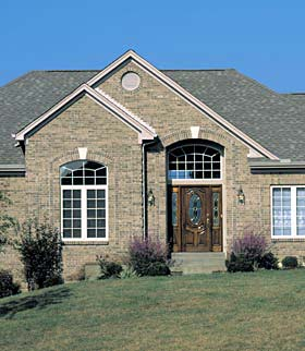 European House Plan 92628 with 3 Beds, 2 Baths, 2 Car Garage Picture 1