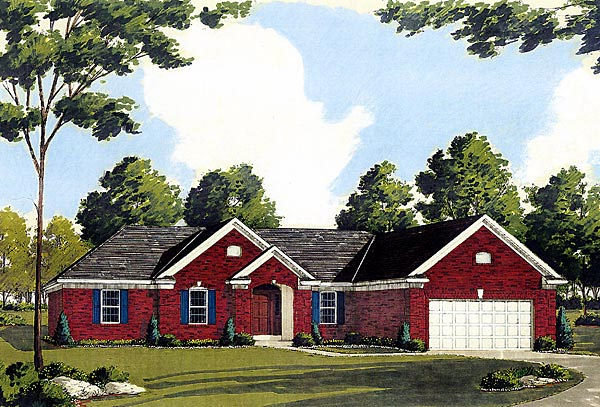 Traditional House Plan 92630 Elevation