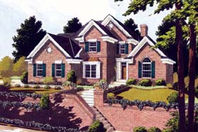 Traditional House Plan 92631 Elevation