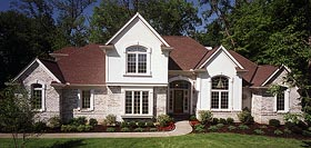 House Plan 92640 | European Style Plan with 2250 Sq Ft, 3 Bedrooms, 3 Bathrooms, 2 Car Garage Elevation
