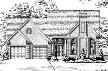 Traditional House Plan 92641 Elevation