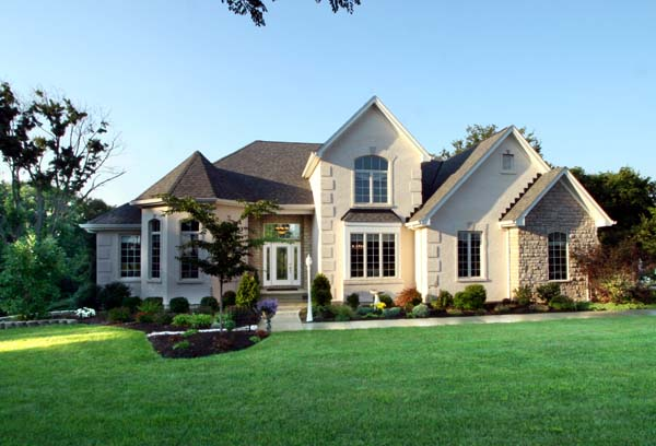 European House Plan 92651 with 4 Beds, 4 Baths, 2 Car Garage Picture 1