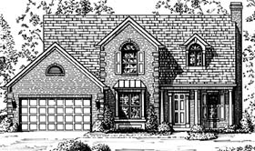 Country , European House Plan 92652 with 3 Beds, 3 Baths, 2 Car Garage Elevation