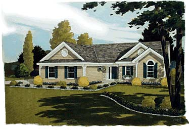 Bungalow Ranch House Plan 92660 Elevation