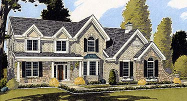Bungalow Country House Plan 92663 Elevation