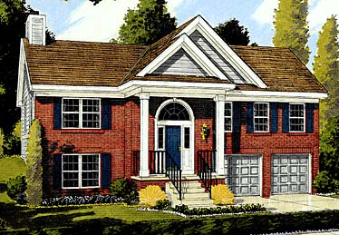 Colonial Country House Plan 92669 Elevation