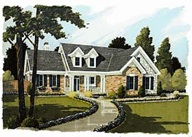 Bungalow Country House Plan 92674 Elevation