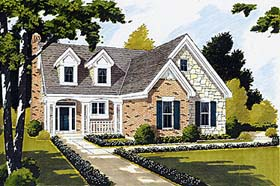 Bungalow Country House Plan 92679 Elevation