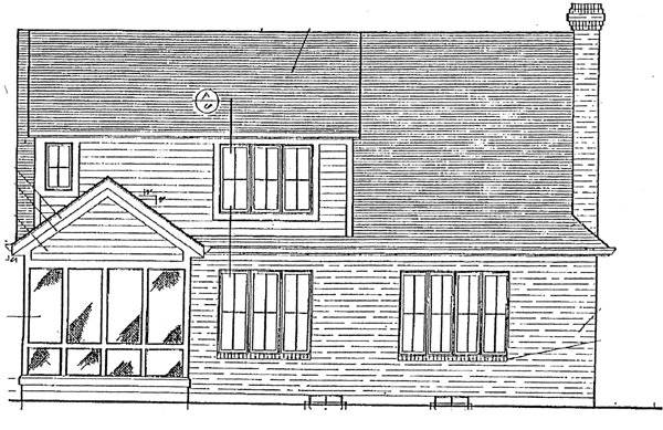 Bungalow Country House Plan 92679 Rear Elevation
