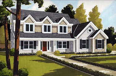 Bungalow Country House Plan 92682 Elevation