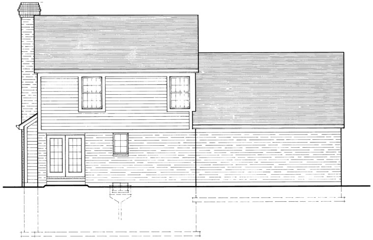 Country House Plan 92684 Rear Elevation