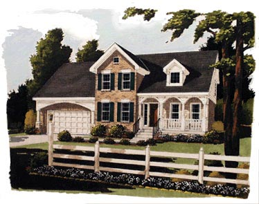 Country House Plan 92687 Elevation